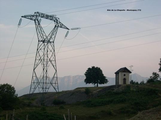 Le site de la chapelle de Montsapey (Maurienne) menacé par le passage d'une ligne de 400.000 volts
