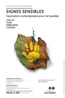 Gif-sur-Yvette. Exposition Signes Sensibles au Château du Val Fleury du 15 mai au 8 juillet 2018