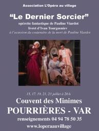 15 au 23 juillet, L'Opéra au Village à Pourrières, Var