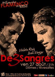27 août 10, Flamenco avec Violeta Ruiz & Iván Vargas au Dômes de Rivesaltes