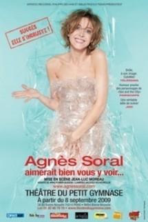 """23 juillet 2010. Agnès Soral : Ah qu'elle """"aimerait bien vous y voir"""" ! au festival de La Colle-sur- Loup"""
