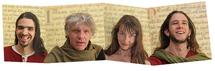 13 août 2010, L'ensemble Medius Terra en Création au festival de Lutherie médiévale de Largentière (07)
