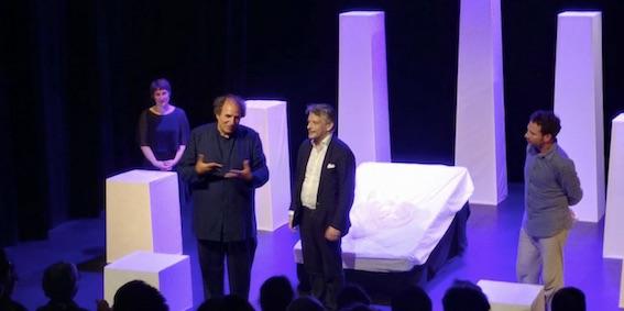 Camille Arraz, Serge Barbuscia, Hugo Horiot  et Fabrice Lebert © DR