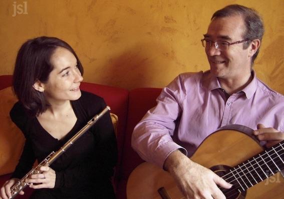 Chloé et Eric Franceries