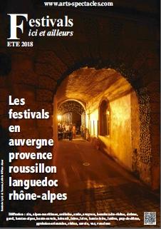 Festivals 2018, cliquez sur l'image pour télécharger le magazine