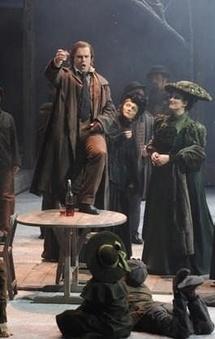 Jean-François Lapointe dans Fortunio à l'Opéra Comique Paris © DR
