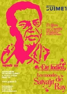 8 septembre au 29 octobre 2010, Les mondes de Satyajit Ray à l'Auditorium Guimet, Paris