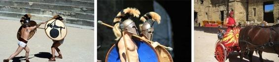 11 & 12.09.10 : La fête romaine au théâtre antique d'Orange