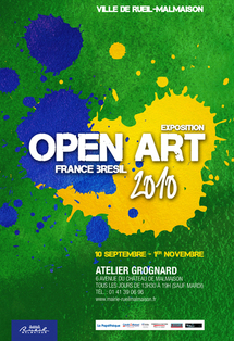 9.09 au 1.11.10 : Open art 2010 - France Brésil, rencontre internationale d'artistes à Rueil Malmaison
