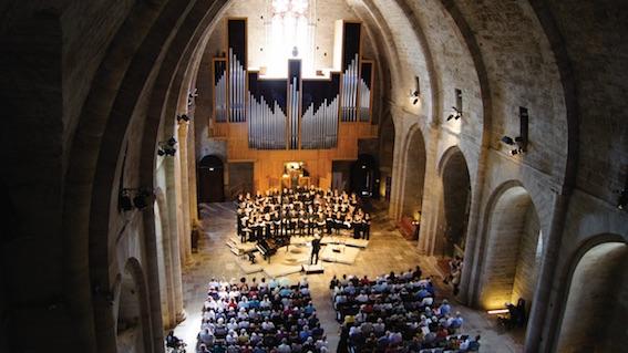 La magnifique abbaye de Sylvanès © DR