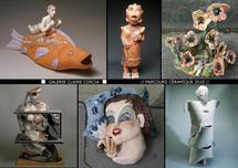 """8.9 au 10.11.10 : Exposition de céramique contemporaine : """"Filles du feu"""" à la Galerie Claire Corcia"""