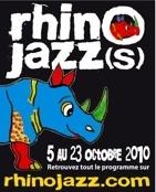 5 au 23.10.10 : RHINO JAZZ(s) festival 32e édition !