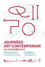 9 & 10.10.10 : Journées Art Contemporain, à la découverte de Grenoble et de sa région à travers ses lieux d'art contemporain.