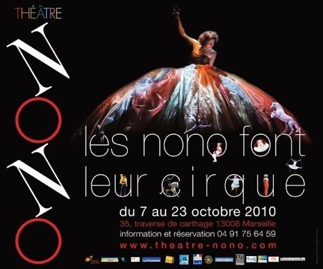 7 au 23.10.10 : Les NoNo font leur Cirque au théâtre NoNo, Marseille