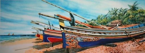 17.09 - 31.10.10 : Louis George-Batier, peintre navigateur à l'Espace culturel de Mougins village