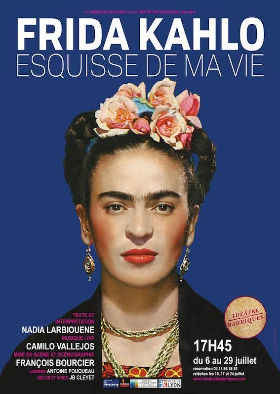 Avignon Off. Frida Kahlo, Esquisse de ma vie, Compagnie Novecento, au Théâtre des Barriques à 17h45 du 6 au 29 juillet