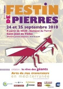 24 + 25.09.10 : Festin de pierres au Domaine du Terral à Saint Jean de Védas