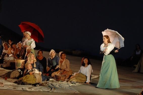 Mireille, de Gounod © Chorégies d'Orange 2010