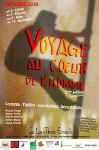 """2-3 et 9-10.10.10 : festival """"Voyage au cœur de l'homme"""", Val de Drôme"""
