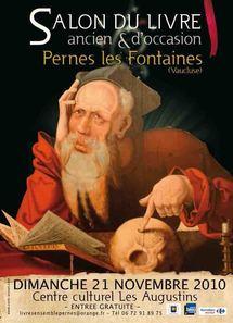 21.11.10 : 7ème Salon du Livre Ancien et d'Occasion de Pernes les Fontaines