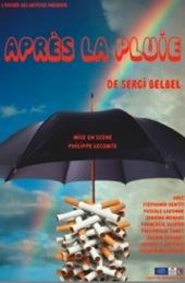 8 au 30.10.10 : Après la pluie, pièce de Sergi Belbel au Théâtre de l'Impasse, Nice