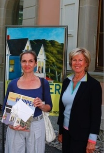 Viviane Klasen et Juliane Cosandier © Fondation de l'Hermitage
