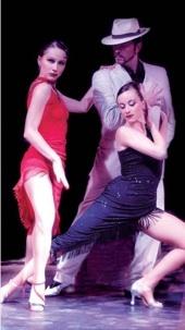 4.02.11 : L'Histoire du Tango d'Astor Piazzola, Théâtre Quarto, Unieux, Loire