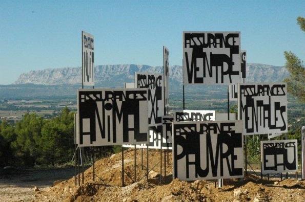 16.10.10 : Un après midi d'art contemporain dans les vignobles du pays d'Aix en Provence