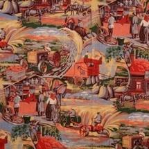 Russie en calicot © All russian decorative arts Museum