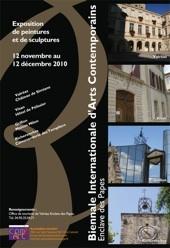 12.11 > 12.12.10 : Biennale Internationale d'Arts Contemporains, Enclave des Papes (Vaucluse)