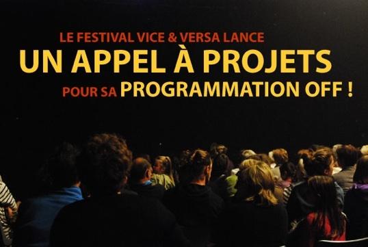 Appel a projets pour le Festival Vice & Versa 2011 off