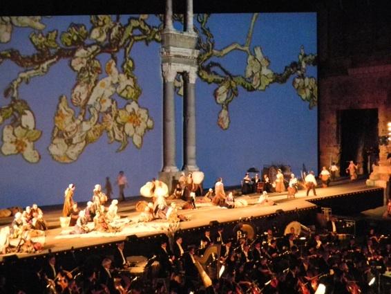Après Mireille, en 2010, place à la magnificence des opéras de Verdi © P. Aimar