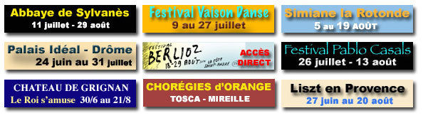 Magazine Festivals ici et ailleurs 2011, une référence pour le Sud-Est de la France