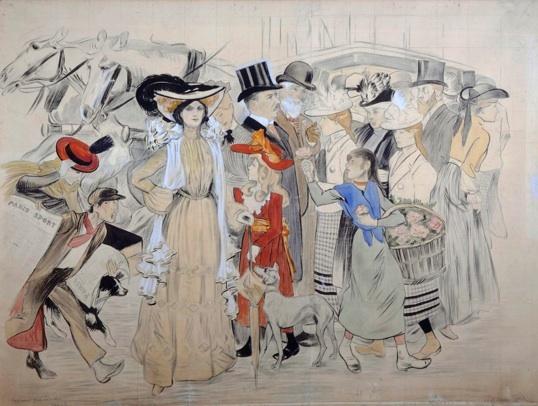 Steinlen, Scène de rue, 1904. Association des Amis du Petit Palais, Genève @ Studio M. Bernaz