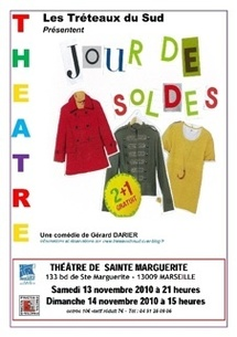 13.12.10 : Jour de Soldes, de Gérard Darier par les Tréteaux du Sud, Théâtre de Sainte Marguerite, Marseille