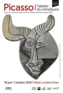 Picasso : L'atelier du Minotaure au Palais Lumière d'Evian du 30 juin au 7 octobre 2018