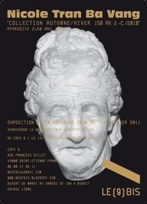 19.11.10 > 1.01.11 : Exposition Nicole Tran Ba à l'espace de création contemporaine LE (9) BIS, Saint Etienne
