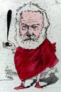 Paris, Maison de Victor Hugo : Caricatures, Hugo à la une, du 13 septembre 18 au 6 janvier 19
