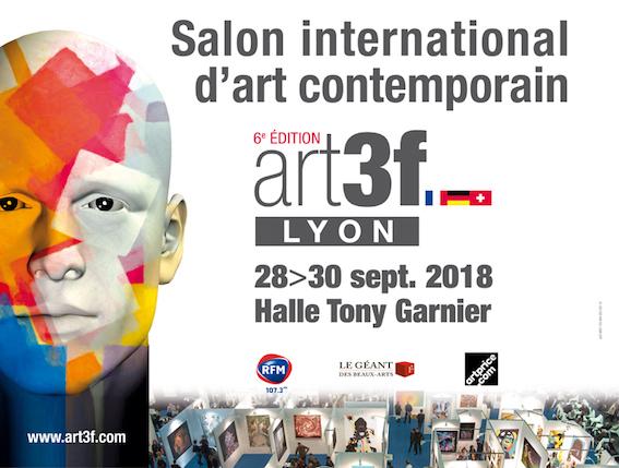 Lyon : art3f Lyon investit la Halle Tony Garnier. Un lieu prestigieux pour un salon en grande pompe, les 28, 29 et 30 septembre 2018