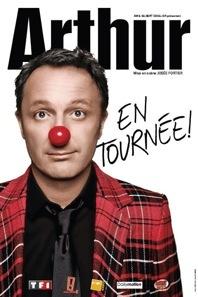 Le 29 janvier, Arthur est en spectacle au Palais de la Méditerranée à Nice
