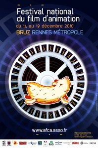 14 au 19 décembre, 17e Festival National du film d'animation à Bruz et Rennes