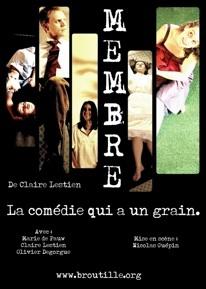 16 décembre au 2 janvier, Membre, de Claire Lestien, au Carré30, Lyon