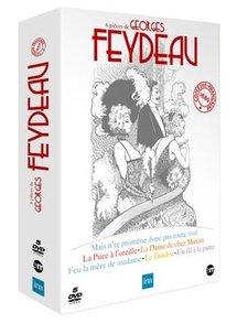 Les six plus grandes pièces de Georges Feydeau par la Comédie-Francaise en DVD. Edtions INA