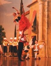 Don Quichotte, avec Irina Kolesnikova et le Ballet théâtre de Saint-Pétersbourg, Salle 3000, Lyon, le 2 février 2011