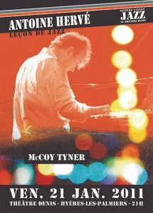 Antoine Hervé, leçon de Jazz, McCoy Tyner (Feat Louis & François Moutin), Théâtre Denis, Hyères, le 21 janvier 2011