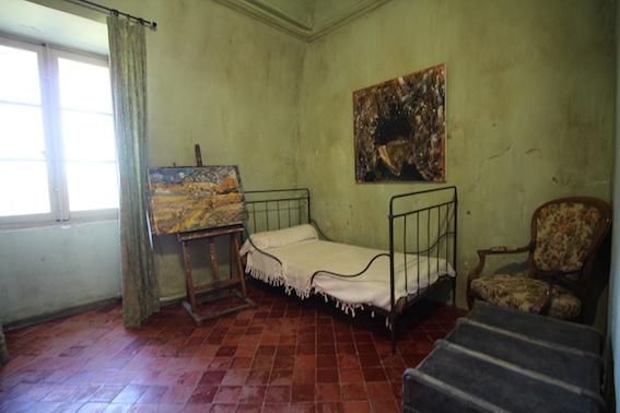 St-Paul de Mausole, chambre de Van Gogh