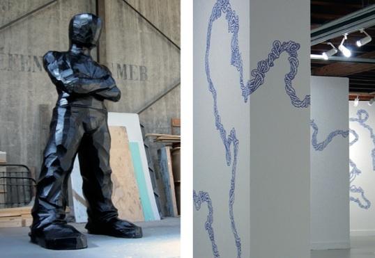 Exposition 4MAINS4YEUX de Cyrille André et Dominique Lucci à la Fondation Bullukian, Lyon, du 27 janvier au 26 mars 2011