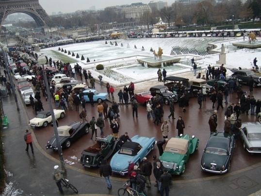 16 janvier 2011, 11e Traversée de Paris des voitures anciennes