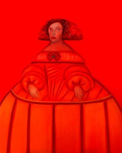 Lisa Santos Silva. La Grande Ménine, 162 X 130, Paris, 2010