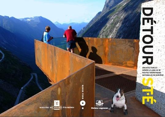 19 janvier au 18 février 2011, exposition DÉTOUR ST-É. Architecture et design le long de 18 Routes touristiques nationales en Norvège, Saint-Etienne